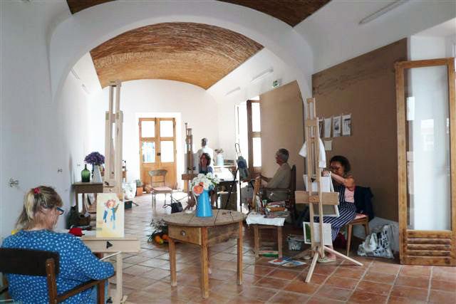 Photo of the studio at Art In The Algarve